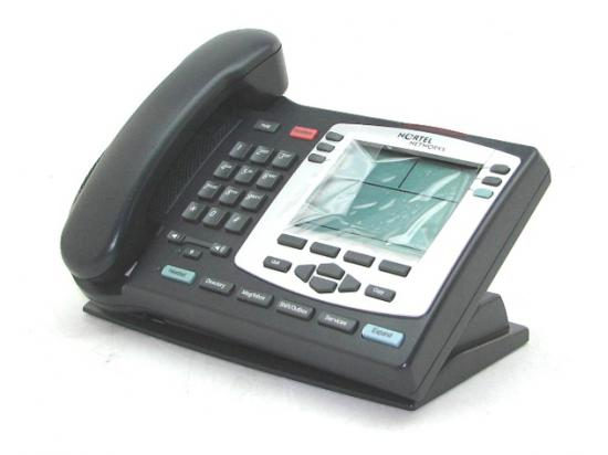 Nortel IP 2004 Phone Charcoal w/ Silver Bezel