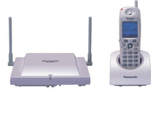 Panasonic KX-TD7896 Cordless Phone Set - White