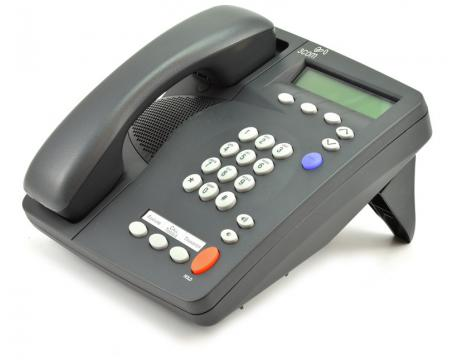 3Com 2102 PE NBX Display Office Phone VOiP Charcoal w// Cord Stand and Handset