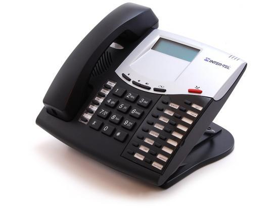 Inter-tel Axxess 550.8622 Black IP Display Speakerphone - Grade B - Mitel Branded