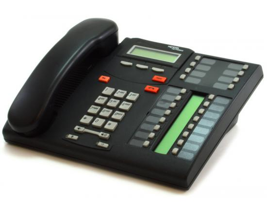 "Nortel T7316 Charcoal 24-Button Executive Phone (NT8B27) ""Grade B"""