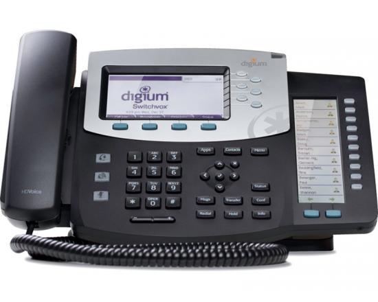 Digium D70 IP Phone with Text Keys (1TELD070LF)