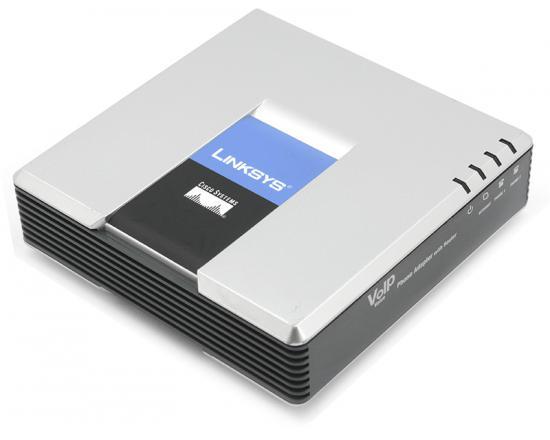 Cisco Small Business Pro SPA2102 2-Port RJ-45 10/100 Phone Adapter - Grade A