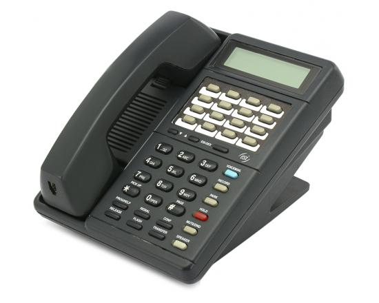 ESI Communications IVX DP1 16-Button Charcoal Display Phone (5000-0117)