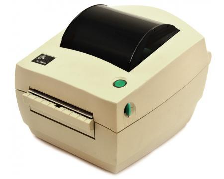 Zebra LP 2844 Parallel Serial USB Thermal Barcode Label Printer (2844-20300-0001) - Grade A