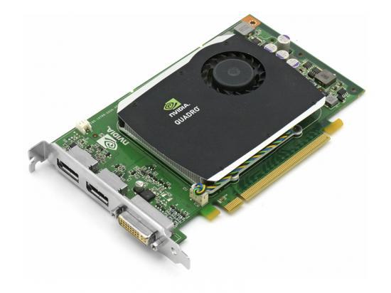 nVidia Quadro FX 580 512MB PCI-E Video Card