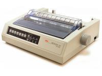 Okidata Microline 520 Parallel 9-Pin Dot Matrix Impact Printer (62409001) - Beige - Grade A
