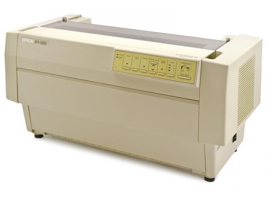Epson DFX-5000 Parallel 9-Pin Dot Matrix Impact Printer (C112001) - Beige