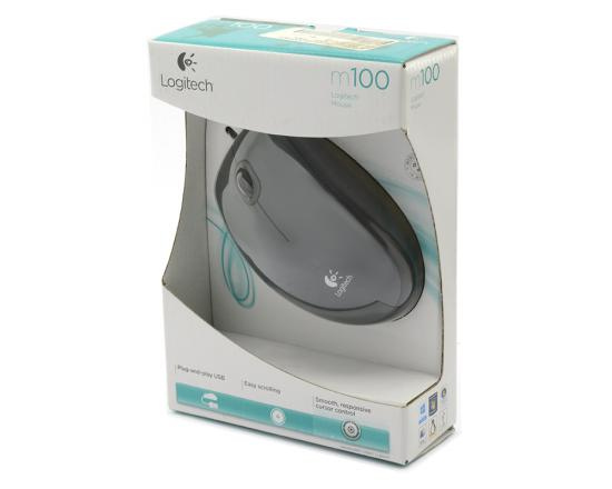 Logitech m100 Wired USB Mouse