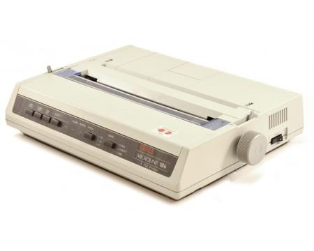 Okidata Microline 186 Dot Matrix Printer (ML186) (62422301) D22300A