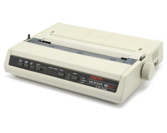 Okidata Microline 182 Turbo 9-Pin Dot Matrix Printer (GE5250U) - Microline Standard Emulation - Grade A