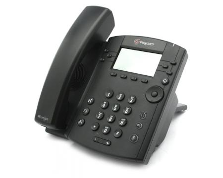 Polycom VVX 300 2200-46135-025 IP Display Speakerphone