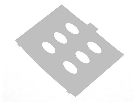 Avaya Euro Partner 6D Series II Plastic Overlay