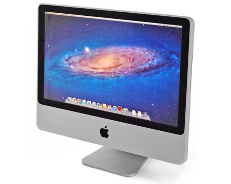 "Apple iMac 8,1 A1224 - 20.1"" Grade A - Core 2 Duo (E8335) 2.66GHz 2GB RAM 500GB HDD"