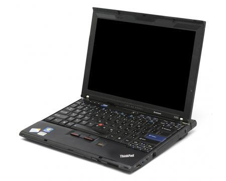 Lenovo ThinkPad X200 121 Laptop Core 2 Duo P8600 186GHz 2GB Memory 250GB HDD