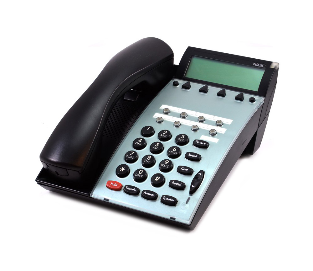 Nec 590020 dtp-8d-1 8 button display telephone (white).