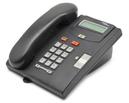 Nortel Norstar T7100 Charcoal Display Phone NT8B25