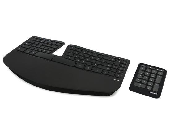 Microsoft Sculpt Ergonomic Wireless Keyboard (5KV-00001)