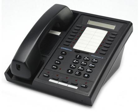 Comdial Executech II 6600E-FB Black Multi-line LCD Speakerphone
