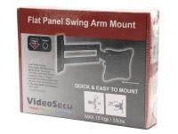 VideoSecu ML10B Flat Panel Swing Arm Mount