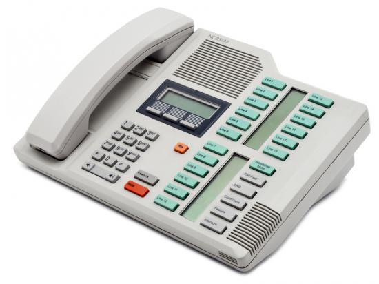 Nortel Norstar M7324 Dolphin Grey Receptionist Display Phone (NT8B40)