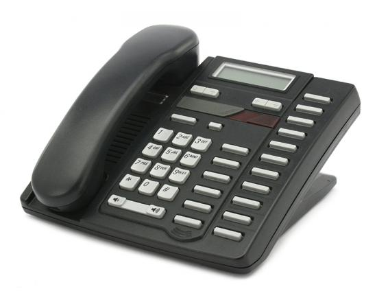 Nortel Aastra M9216 Single Line Phone - Black