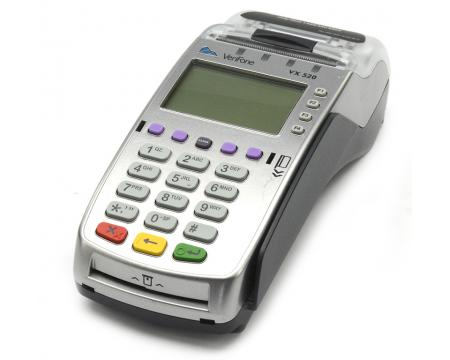 Verifone Vx520 Dual Comm Payment Terminal With Smart Card