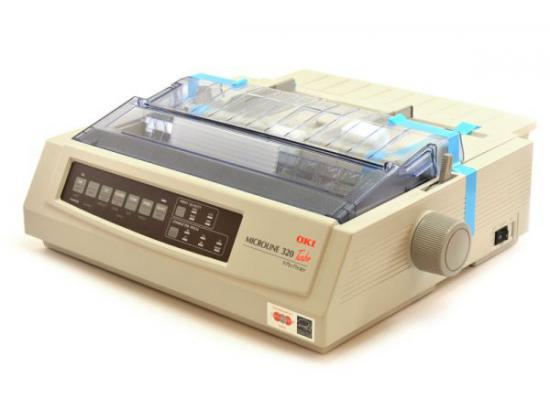 Okidata Microline 320 Turbo Parallel Dot Matrix Printer (62411601) - Beige