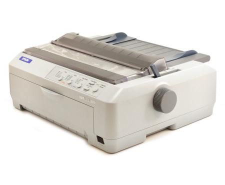 Epson FX-890 Parallel USB Dot Matrix Impact Printer (C11C524001) - White