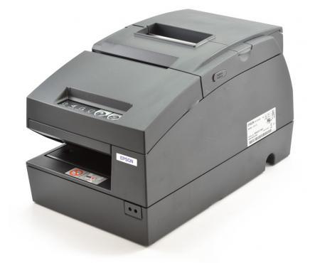 Epson TM-H6000III Monochrome Serial Parallel USB Multifunction Printer (C31C625056) - Black
