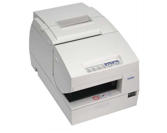 Epson TM-H6000II Thermal Receipt Printer - White - Refurbished
