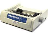 Okidata Microline 420 USB Parallel Dot Matrix Impact Printer - Beige - Grade A