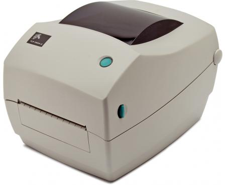 Zebra LP 2844-Z Parallel Serial USB Thermal Barcode Label Printer (284Z-20300-0001) - White