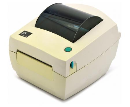 Zebra TLP 3844-Z Parallel Serial USB Direct Thermal Label Printer (384Z-10300-0001) - White