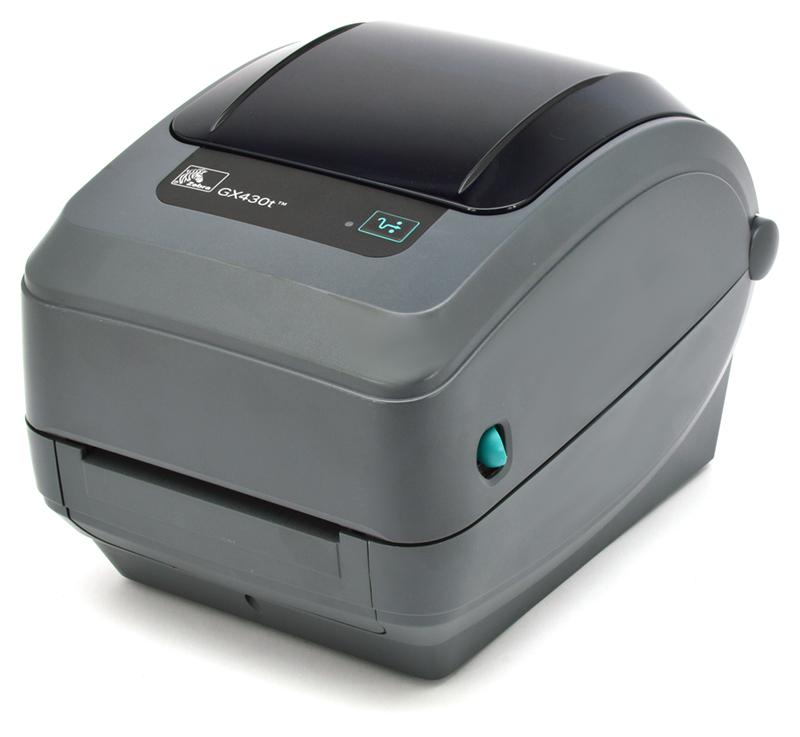 Zebra GX430T Thermal Label Printer (GX43-102510-000