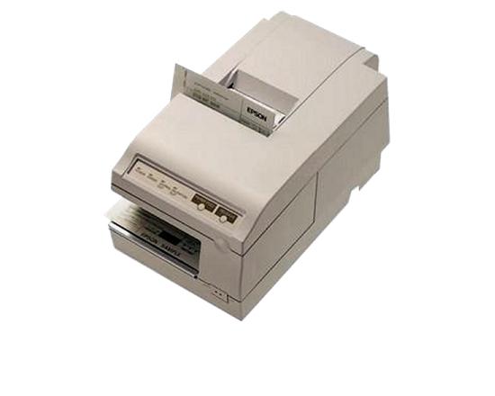 Epson TM-U375 Serial 9-Pin Dot Matirx Impact Monochrome Receipt Printer (M63UA) - White - Refurbished