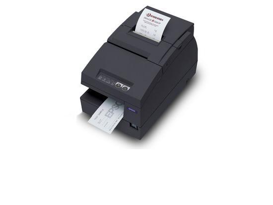 Epson TM-U675 USB Dot Matrix Impact Receipt and Validation Printer (M146A) - Black - Grade A