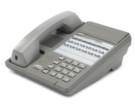 Iwatsu IX-12KTS-2 Gray 12 Button Non-Display Speakerphone (104210)
