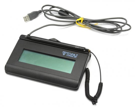 Topaz T-L462-HSB-R USB Signature Pad