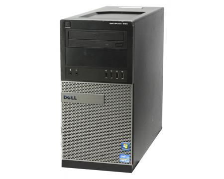 Dell OptiPlex 990 Mini Tower Computer Intel Core i5 (i5-2500) 3.3GHz 4GB DDR3 250GB HDD