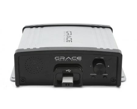 Grace Digital GDI-USBM10 Message and Music On Hold USB Digital MP3 Player for Business Electronics
