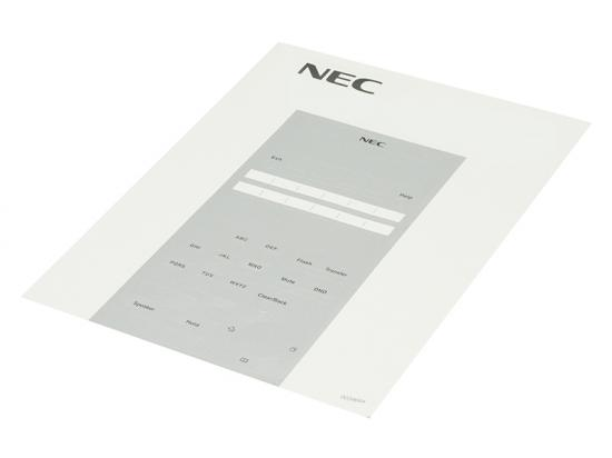 NEC SL1100 12-Button Paper DESI - Black
