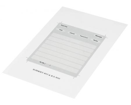 Mitel Superset 4015 & 5010 Paper Designation