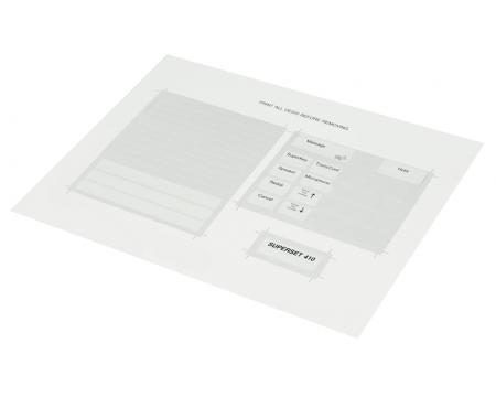 Mitel Superset 410 Paper Designation