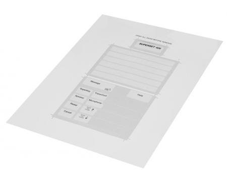 Mitel Superset 420 Paper Designation