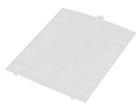 Mitel 4025, 5020 & 5055 Plastic Overlay Designation