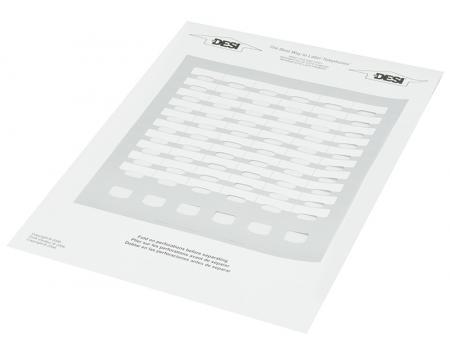 WIN MK-440CT 90 Button DSS Silver Paper DESI