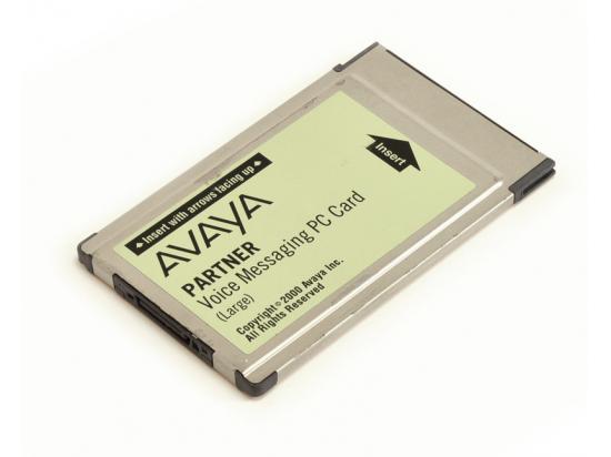 Avaya Partner Large Voice Messaging PC Card Voicemail