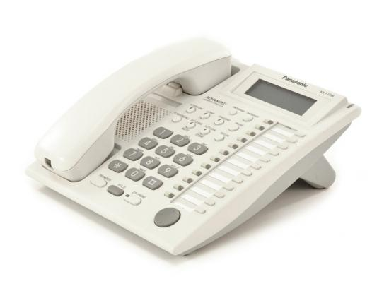 Panasonic KX-T7736 24-Button White Display Phone