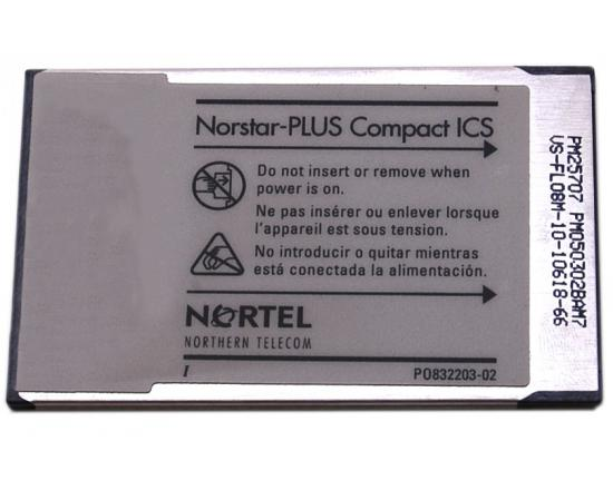 Nortel Compact ICS CICS 2.0 Software 4X8 (NT7B64AD)